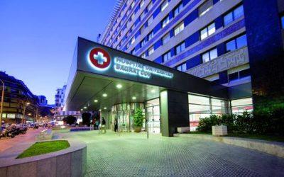 Gli ospedali a Barcellona